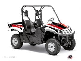 Yamaha Rhino UTV Stage Graphic Kit Black Red