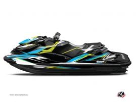 Kit Déco Jet Ski Stage Seadoo RXT-GTX Jaune Bleu