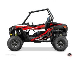 Kit Déco SSV Stage Polaris RZR 900 Noir Rouge