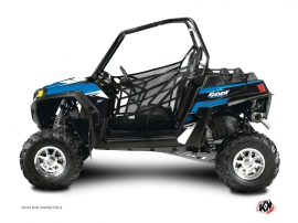 Polaris RZR 900 XP UTV Stage Graphic Kit Blue