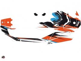 Seadoo Spark Jet-Ski Stage Graphic Kit Orange Blue