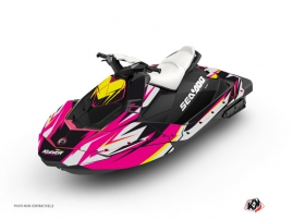 Kit Déco Jet Ski Stage Seadoo Spark Rose
