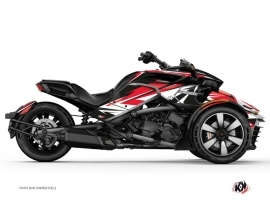Kit Déco Hybride Stage Can Am Spyder F3 Rouge