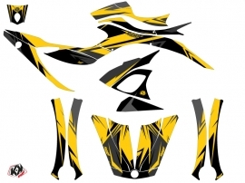 Can Am Spyder RS Roadster Stage Graphic Kit Yellow