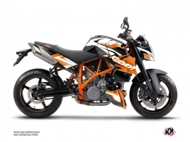KTM Super Duke 990 Street Bike Stage Graphic Kit Orange