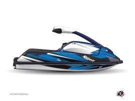 Kit Déco Jet Ski Stage Yamaha Superjet Bleu Noir