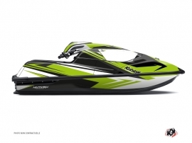 Kawasaki SX-R Jet-Ski Stage Graphic Kit Green