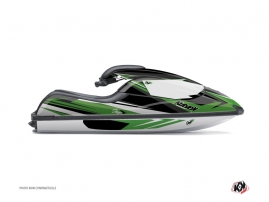 Kawasaki SXI 750 Jet-Ski Stage Graphic Kit Green