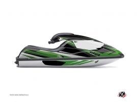 Kit Déco Jet Ski Stage Kawasaki SXR 800 Vert
