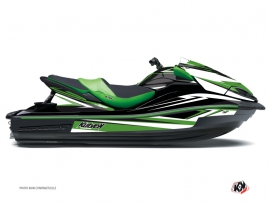 Kawasaki ULTRA 300-310 Jet-Ski Stage Graphic Kit Green