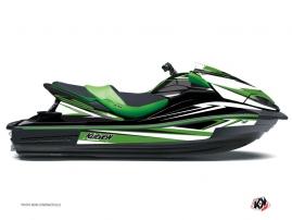 Kit Déco Jet Ski Stage Kawasaki Ultra 300-310 Vert