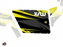 Kit Déco Portes Standard XRW Stage SSV Polaris RZR 570/800/900 2008-2014 Noir Jaune