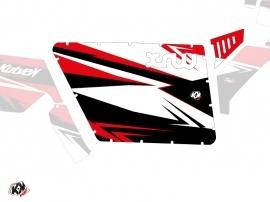 Kit Déco Portes Standard XRW Stage SSV Polaris RZR 570/800/900 2008-2014 Noir Rouge
