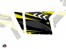 Kit Déco Portes Suicide XRW Stage SSV Polaris RZR 570/800/900 2008-2014 Noir Jaune