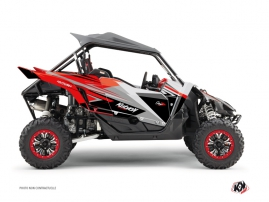 Yamaha YXZ 1000 R UTV Stage Graphic Kit Grey Red