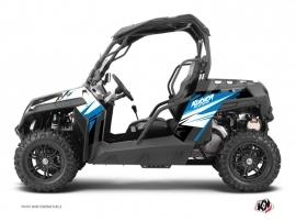 Kit Déco SSV Stage CF Moto Z Force 1000 Bleu
