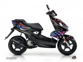 Kit Déco Scooter Stars Yamaha Aerox Bleu