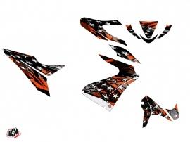 MBK Nitro Scooter Stars Graphic Kit Orange
