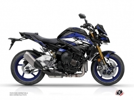 Yamaha MT 10 Street Bike Steel Graphic Kit Black Blue