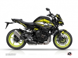 Yamaha MT 10 Street Bike Steel Graphic Kit Black Yellow