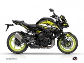 Kit Déco Moto Steel Yamaha MT 10 Noir Jaune
