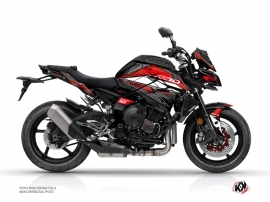 Yamaha MT 10 Street Bike Steel Graphic Kit Black Red