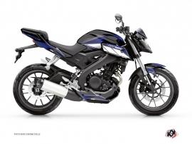 Kit Déco Moto Steel Yamaha MT 125 Noir Bleu
