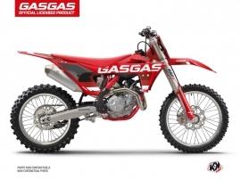 GASGAS MC 125 Dirt Bike Stella Graphic Kit Red