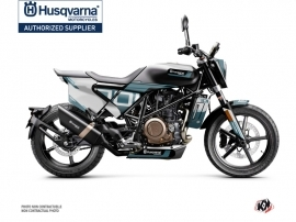 Husqvarna Svartpilen 701 Street Bike Straight Graphic Kit Blue White