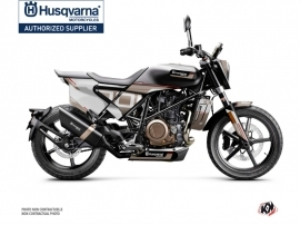 Husqvarna Svartpilen 701 Street Bike Straight Graphic Kit Brown White