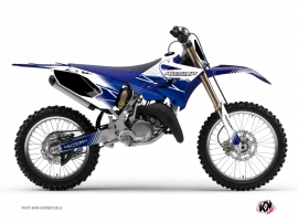Yamaha 125 YZ Dirt Bike Stripe Graphic Kit Night Blue