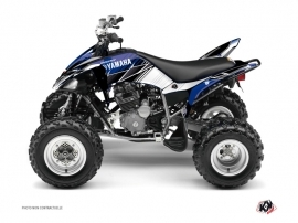 Kit Déco Quad Stripe Yamaha 250 Raptor Bleu