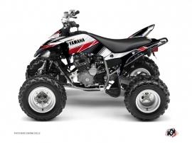 Kit Déco Quad Stripe Yamaha 250 Raptor Rouge