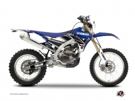 Kit Déco Moto Cross Stripe Yamaha 250 WRF Bleu