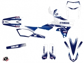 Yamaha 250 WRF Dirt Bike Stripe Graphic Kit Night Blue