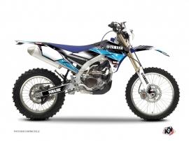 Kit Déco Moto Cross Stripe Yamaha 250 WRF Noir