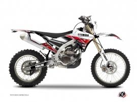 Kit Déco Moto Cross Stripe Yamaha 250 WRF Rouge
