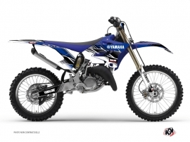Kit Déco Moto Cross Stripe Yamaha 250 YZ Bleu