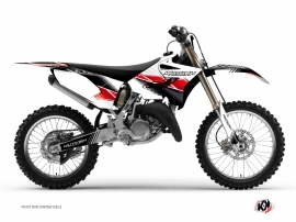 Kit Déco Moto Cross Stripe Yamaha 250 YZ Rouge