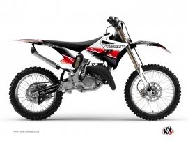 Yamaha 250 YZ Dirt Bike Stripe Graphic Kit Red