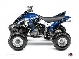 Kit Déco Quad Stripe Yamaha 350 Raptor Bleu