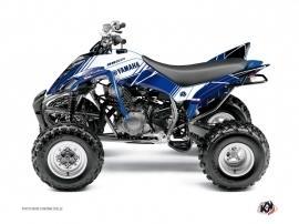 Kit Déco Quad Stripe Yamaha 350 Raptor Bleu Nuit