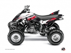 Kit Déco Quad Stripe Yamaha 350 Raptor Rouge