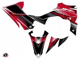 Yamaha 450 YFZ R ATV Stripe Graphic Kit Red Black