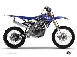 Kit Déco Moto Cross STRIPE Yamaha 450 YZF Bleu