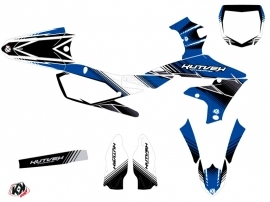 Kit Déco Moto Cross Stripe Yamaha 450 YZF Bleu