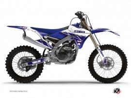 Kit Déco Moto Cross Stripe Yamaha 450 YZF Bleu Nuit