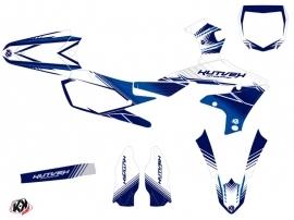 Yamaha 450 YZF Dirt Bike Stripe Graphic Kit Night Blue