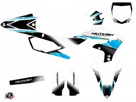 Kit Déco Moto Cross Stripe Yamaha 450 YZF Noir