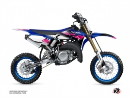 Kit Déco Moto Cross Stripe Yamaha 65 YZ Rose